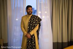 Raja rocking a neat sherwani