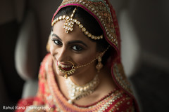 Maharani looking at the camera during pictures