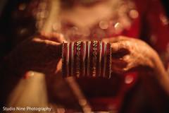 See this beautiful Indian bridal bangles.