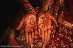 Incredible Indian bridal hands mehndi art.
