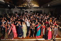 Stunning Indian wedding reception photography.