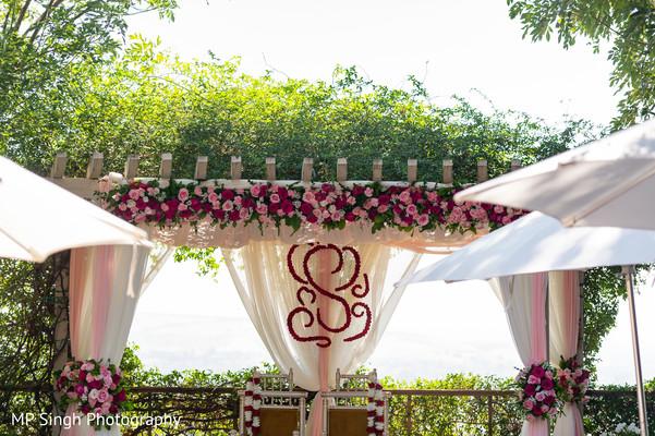 Decor of Mandap for the wedding