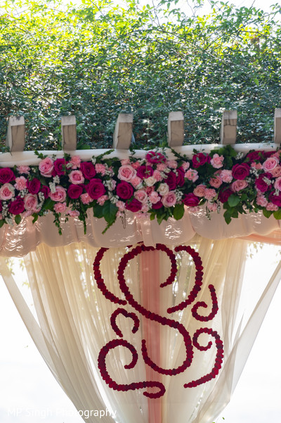 Mandap decor of the celebration