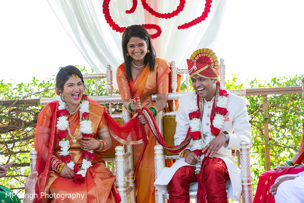 Indian couple and special guest