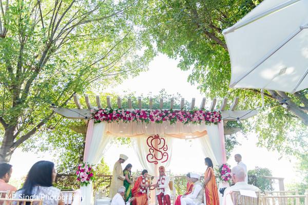 Amazing moments of the Indian wedding celebration