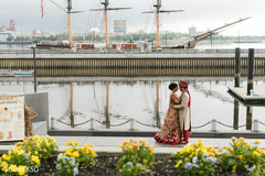 Marvelous Indian couple outdoors capture.