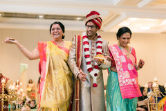 See this  Charming Indian groom walking in to his ceremony.