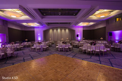 See this marvelous Indian wedding reception lights decor.