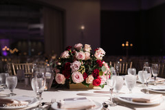 Incredible Indian wedding flowers and table decoration.