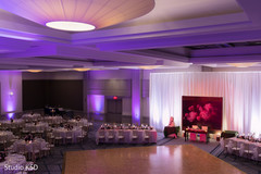 Stunning Indian wedding reception decor.