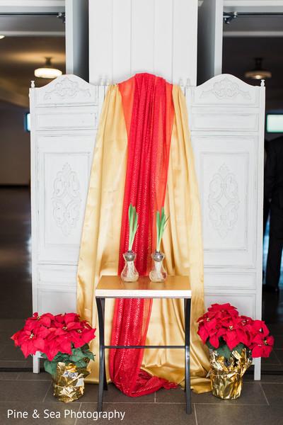 Beautiful indian wedding entrance decor