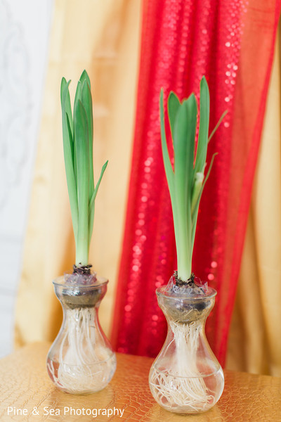 Exotic indian wedding floral decor