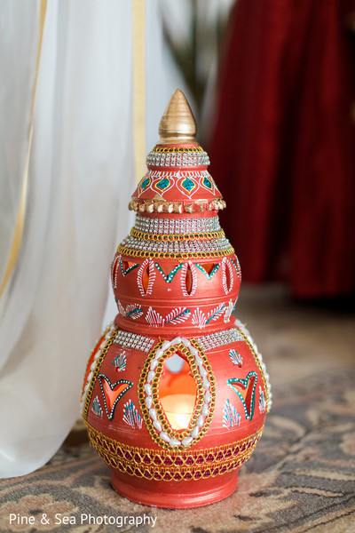 Indian wedding candle holder