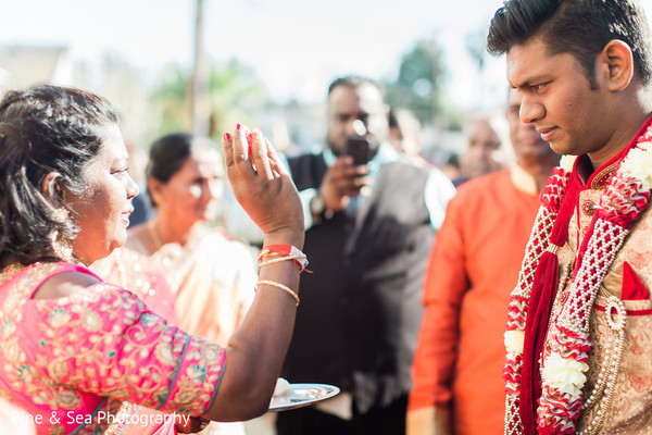 Indian wedding traditions during baraat