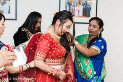 Lovely maharani getting ready