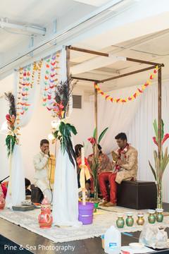 Beautiful indian wedding ceremony moment