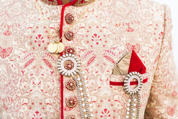 Rich sherwani details