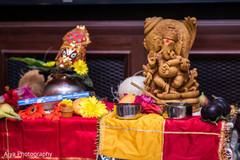 Marvelous Indian per-wedding ritual items.