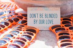 Colorful Indian wedding sunglasses capture.