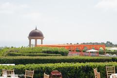 Elegant Indian wedding venue capture.