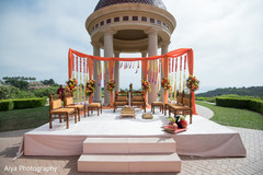 Magnificent Idea for an Indian wedding ceremony outdoors capture.