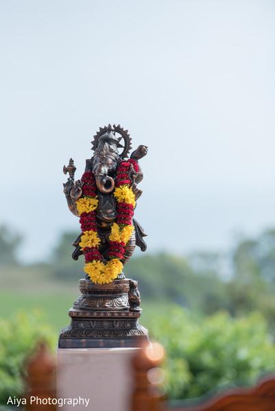 Marvelous Ganesha Puja statue decor.