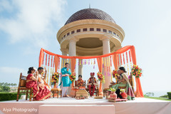 Traditional Indian wedding ceremony photography.
