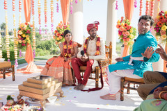 Special Indian wedding ceremony ritual.