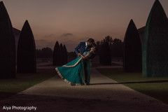 Dreamy Indian couple's photo shoot.