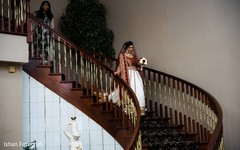 Gorgeous Maharani prior to the ceremony