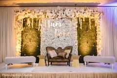 Marvelous Indian wedding stage decor.