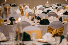 Marvelous Indian  wedding table decoration.