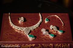 Stunning maharani's ceremony jewelry.
