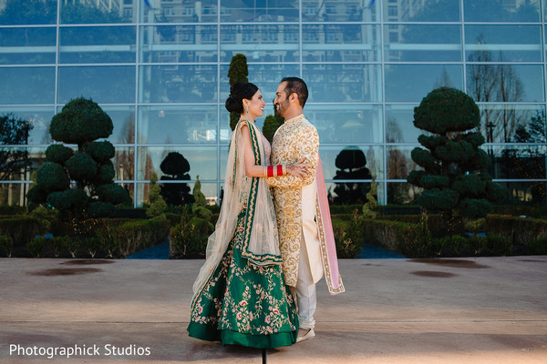 Breath taking indian wedding photo session