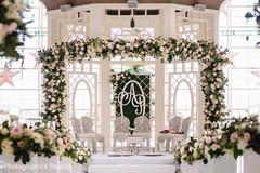 Majestic indian wedding mandap flowers decor.