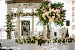 Incredible Indian wedding ceremony aisle flowers decor.