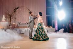 Marvelous indian lovebirds dance.