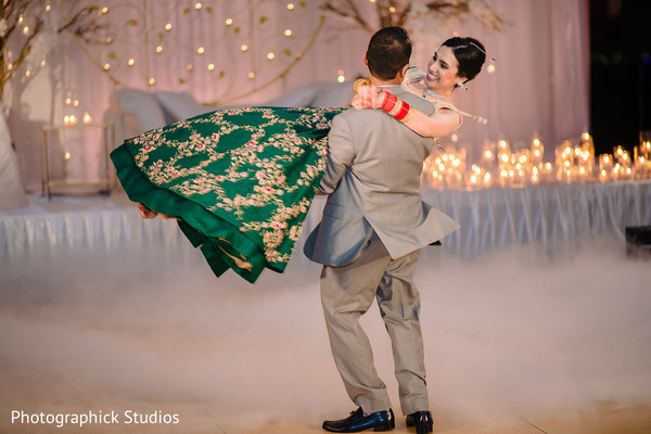 indian wedding reception,indian bride,indian groom,dance