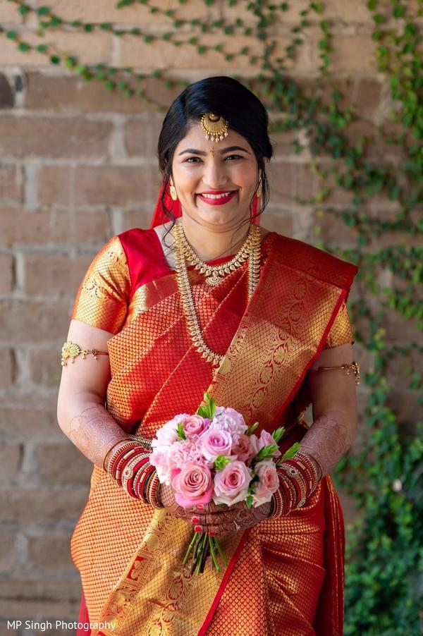 Maharani wearing the beautiful lengha