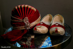 Shoes and pagri of Indian groom