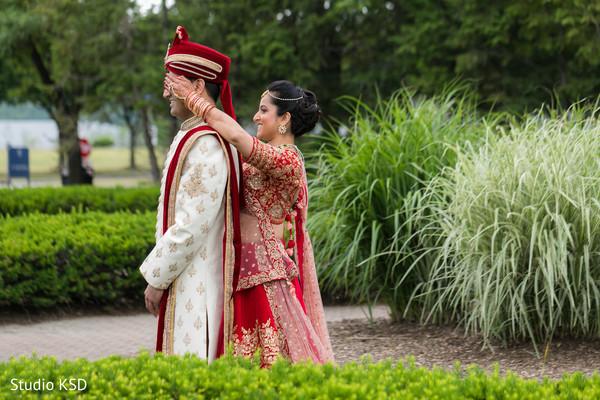 Maharani meeting with groom