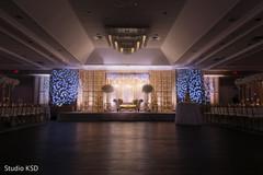 Reception decor details