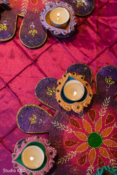 Ornaments of the Indian wedding decor