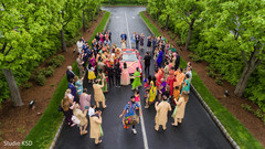 See this incredible baraat celebration capture.
