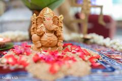 Respectful Ganesha sculpture capture.