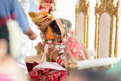Maharani and Maharajah wedding portrait.