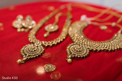Incredible Indian bridal Polki choker set.
