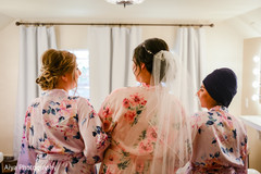See this lovely Indian bride and bridesmaids getting ready.