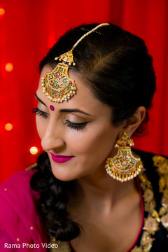 Gorgeous indian bride jewelry set