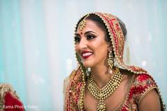 Stunning indian bride look
